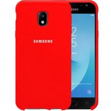 Силикон Original Case HQ Samsung Galaxy J3 (2017) J330 (Красный)