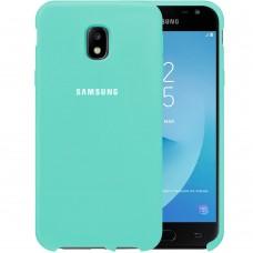 Силикон Original Case HQ Samsung Galaxy J3 (2017) J330 (Бирюзовый)
