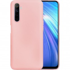 Силикон iNavi Color Realme 6 (Розовый)