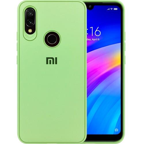 Силикон Junket Case Xiaomi Redmi Note 7 (Зелёный)