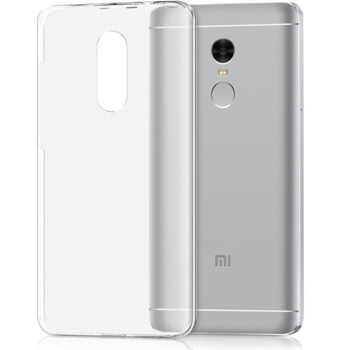 Силиконовый чехол WS Xiaomi Redmi Note 4x (прозрачный)