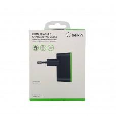 СЗУ-адаптер Belkin Home Charger 2.1A + MicroUSB-кабель 1.2m