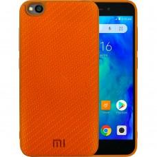Силикон Plexus Case Xiaomi Go (Оранжевый)