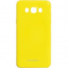 Силикон Molan Shining Samsung Galaxy J7 (2016) J710 (Жёлтый)