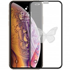 5D Стекло Picture Apple iPhone XS Max / 11 Pro Max Black (Butterfly)
