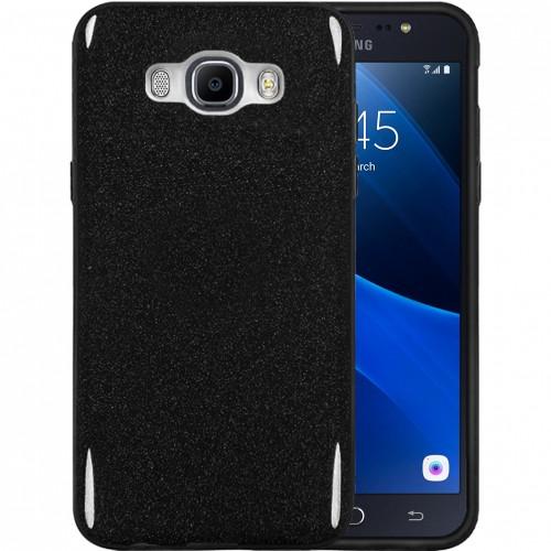 Силикон Glitter Samsung Galaxy J7 (2016) J710 (черный)