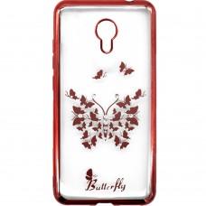 Силикон Beckberg Breathe Seria Meizu C9 (Butterfly)