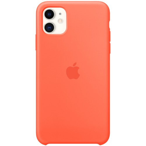 Чехол Silicone Case Apple iPhone 11 (Orange)