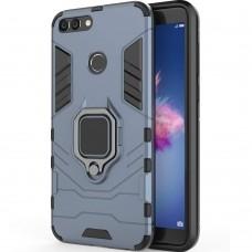Бронь-чехол Ring Armor Case Huawei P Smart (Пыльная бирюза)