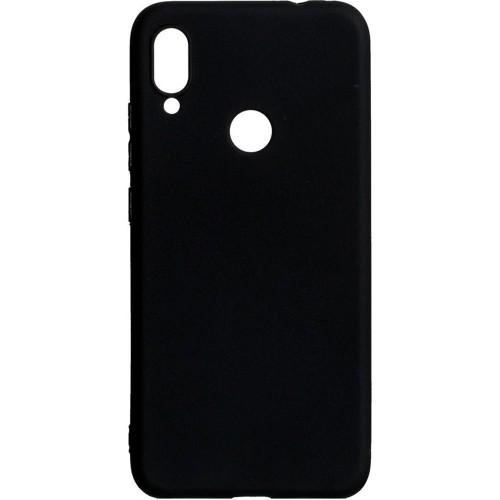 Силиконовый чехол iNavi Color Xiaomi Redmi Note 7 (чёрный)