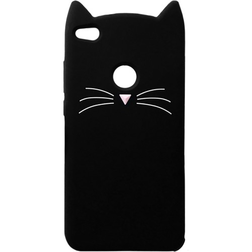 Силикон Kitty Case Xiaomi Redmi 4x (чёрный)