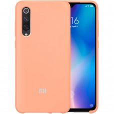 Силиконовый чехол Original Case Xiaomi Mi9 (Персик)