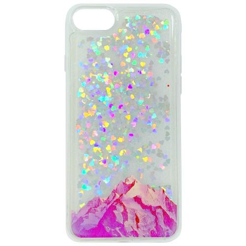 Силиконовый чехол Liquid Fashion Apple iPhone 6 / 6s (Mountains)