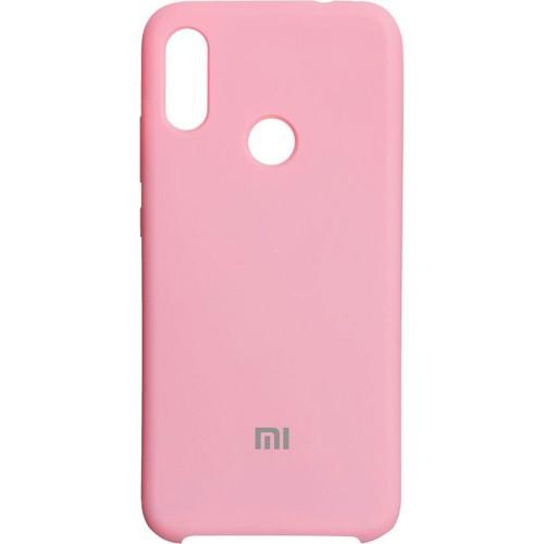 Силиконовый чехол Original Case (HQ) Xiaomi Redmi Note 7 (Розовый)