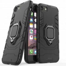 Бронь-чехол Ring Armor Case Apple iPhone 6 / 6s (Чёрный)