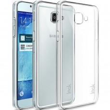 Силиконовый чехол QU Case Samsung Galaxy A7 (2017) A720 (Прозрачный)