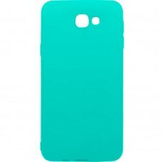 Силиконовый чехол iNavi Color Samsung Galaxy J5 Prime G570 (Бирюзовый)