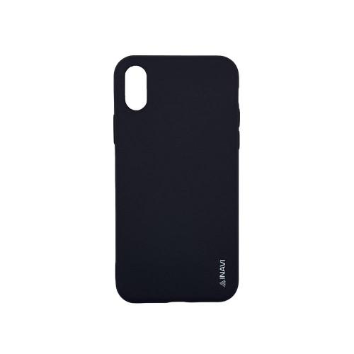 Силикон iNavi Color iPhone X / XS (черный)