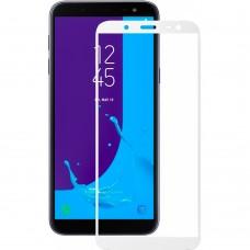Стекло Samsung Galaxy J6 (2018) J600 White