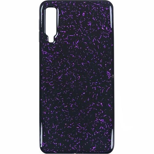 Накладка Confetti Samsung Galaxy A7 (2018) A750 (Фиолетовый)