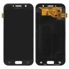 Дисплейный модуль для Samsung A520 Galaxy A5 (2017) (Black)