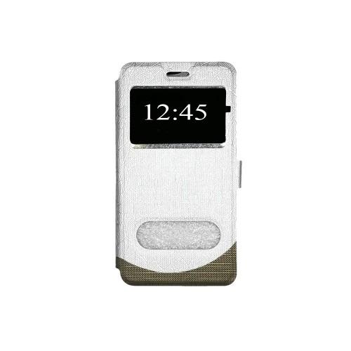 Чехол-книжка Wave Cover Xiaomi Redmi 4a (серебрянный)