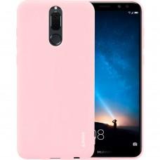 Силикон iNavi Color Huawei Mate 10 Lite (персик)