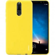 Силикон iNavi Color Huawei Mate 10 Lite (желтый)