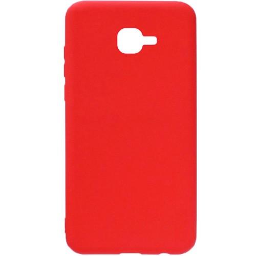 Силикон iNavi Color Samsung Galaxy J1 (2016) J120 (Красный)