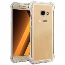Силикон 3D Samsung Galaxy A5 (2017) A520 (Прозрачный)