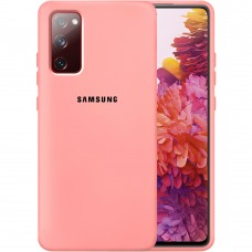 Силикон Original Case Samsung Galaxy S20 FE (Розовый)