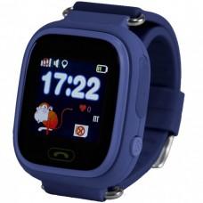 Детские смарт-часы Smart Baby Watch Q90 (Dark Blue)