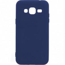 Силикон iNavi Color Samsung Galaxy J3 (2016) J320 (тёмно-синий)