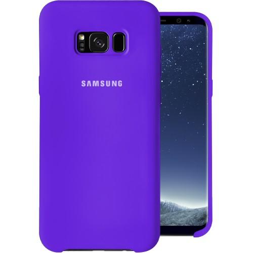 Силиконовый чехол Original Case (HQ) Samsung Galaxy S8 Plus (Фиолетовый)