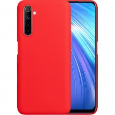 Силикон iNavi Color Realme 6 (Красный)