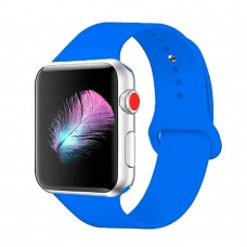 Ремешок Apple Watch Silicone 42 / 44mm (45) Denim Blue