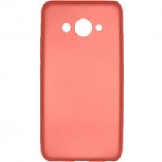 Силиконовый чехол Soft Color Huawei Y3-   (Розовый)