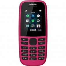 Мобильный телефон Nokia 105 Dual Sim (2019) (Pink)