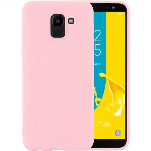 Силикон iNavi Color Samsung Galaxy J6 (2018) J600 (персик)
