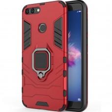 Бронь-чехол Ring Armor Case Huawei P Smart (Красный)