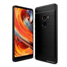 Силикон Polished Carbon Xiaomi Mi Mix 2 (Черный)