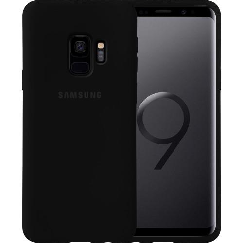 Силикон Original Case Samsung Galaxy S9 (Чёрный)