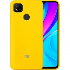Силикон Original Case Xiaomi Redmi 9C (Жёлтый)
