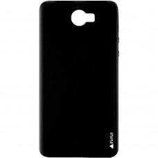 Силиконовый чехол iNavi Color Huawei Y5-II (Черный)
