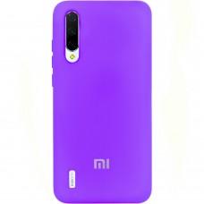 Силикон Original Case (HQ) Xiaomi Mi9 Lite / Mi CC9 (Сиреневый)