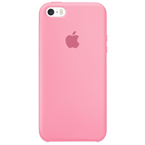 Силиконовый чехол Original Case Apple iPhone 5 / 5S / SE (36) Candy Pink
