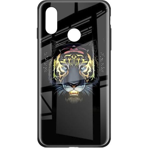 Накладка Luminous Glass Case Huawei P Smart Plus / Nova 3i (Tiger)