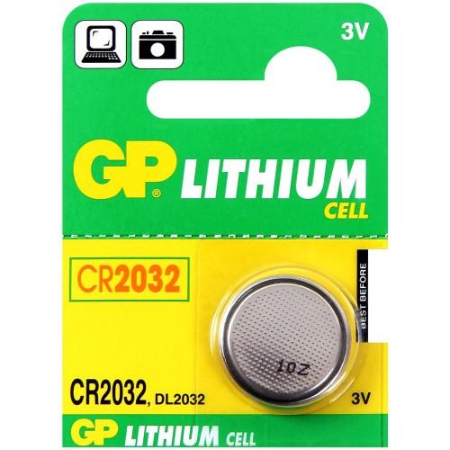Батарейка литеева GP Lithinum CR2032 C5 3V