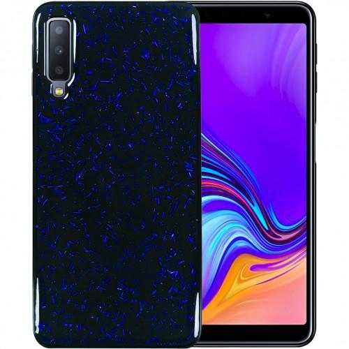 Накладка Confetti Samsung Galaxy A7 (2018) A750 (Синий)