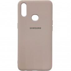 Силикон Original Case (HQ) Samsung Galaxy A10s (2019) (Пудровый)
